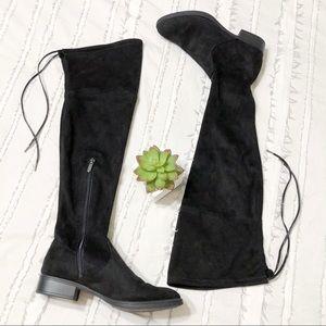 sam edelman | over the knee otk black suede boots